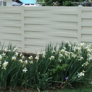 Windsor Style Vinyl Fence